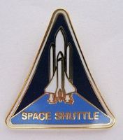 Shuttle Program Lapel Pin